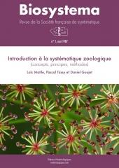 Biosystema, n°1/1987, réédition 2013 : Introduction à la systématique zoologique