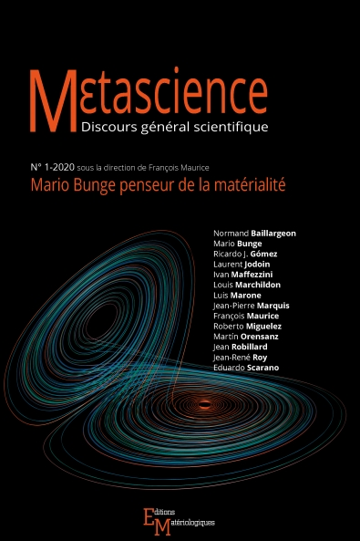 Mario Bunge penseur de la matérialité