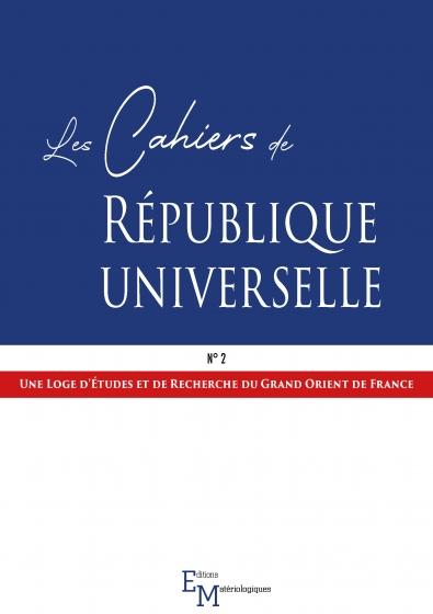 Les Cahiers de République universelle, n° 2